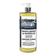 Savon de Marseille liquide La Corvette Savonnerie du midi verveine citron 1L