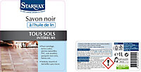 Savon noir à l'huile de lin Starwax 1L
