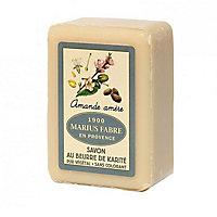 Savonnette beurre de karité, parfumée à l'Amande douce 150g