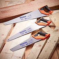 Scie à bois coupe universelle Irwin 550 mm