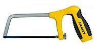 Scie à métaux mini Stanley avec poignée revolver