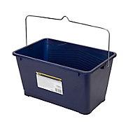 Seau à peinture plastique bleu Diall 41 x 28 cm 14L