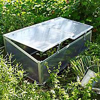 Serre chassis aluminium et polycarbonate Jany