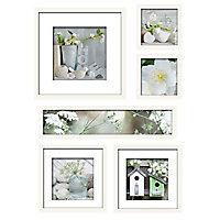 Set de 6 images encadrées Poésie 70 x 90 cm