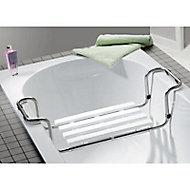 Siège de bain en inox