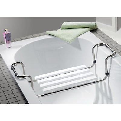 siege de bain en inox