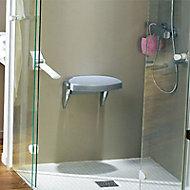 Siège de douche double fonction