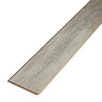Sol stratifié à clipser Bundaberg Gris 7 mm - L.138 x l.19.3 cm