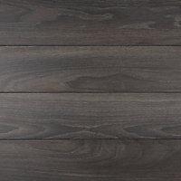 Sol stratifié à clipser Horsham Chêne fonce 8 mm - L.129 x l.16 cm