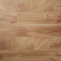 Sol stratifié à clipser Lydney chêne naturel brut 12 mm - L.138 x l.15.9 cm