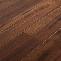 Sol stratifié à clipser Otley Chêne rustique 10mm - L.138 x l.15.9 cm