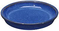 Soucoupe terre cuite bleu ø32 cm