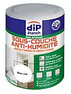 Sous-couche anti-humidité mur intérieur DIP blanc 750 ml