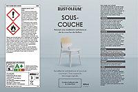 Sous-couche en bombe aérosol Rust-Oleum gris 400ml