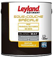 Sous-couche MDF Leyland blanc 2,5L