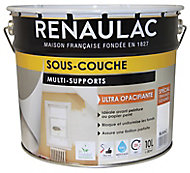 Sous-couche multi-supports intérieurs ultra opacifiante blanc Renaulac 10L