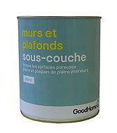 Sous-couche murs et plafonds GoodHome 2,5L blanc