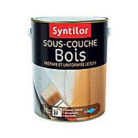 Sous-couche peinture bois Aquaréthane intérieur extérieur Syntilor 2,5 L blanc