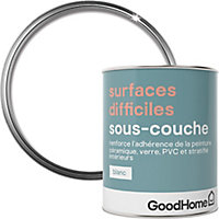 Sous-couche surfaces difficiles GoodHome blanc 0,75L