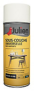 Sous-couche universelle multi-supports en aérosol Julien blanc satin 400ml