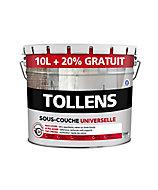 Sous-couche universelle Tollens blanc 10L + 20% gratuit