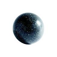 Sphère décorative granit noir D. 30 cm