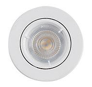 Spot à encastrer Colours Caius IP20 blanc Ø8,5 cm
