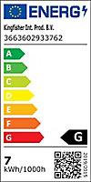 Spot LED Colours Emera chrome IP44