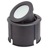 Spot LED à encastrer Blooma Dodson IP65 noir 13,5W