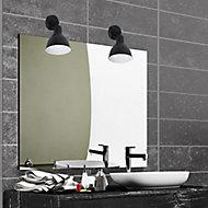 Spot LED salle de bain Corep Lewis noir 5W IP44