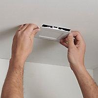 Spots à encastrer LED intégrée Colours Octave carré blanc 380 lm