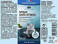Spray antistress pour chat 100ml