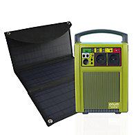 Station d'énergie portative IZYWATT 288 + Panneau Solaire 30W