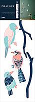 Sticker Branche Bird 24x69 cm