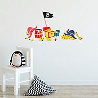 Sticker Enfant Pirate 24x69 cm