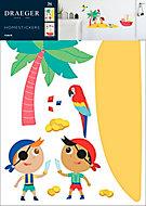 Sticker Enfant Pirate 49x69 cm
