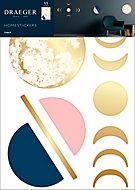 Sticker Finition Gold Lune 49x69 cm