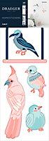 Sticker Oiseaux 24x69 cm