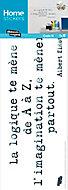 Sticker Transfert Texte, citation 24x69 cm