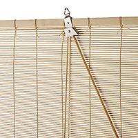Store enrouleur bambou naturel 120 x 180 cm