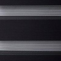 Store enrouleur Colours Elin jour nuit gris 60 x 240 cm