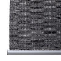 Store enrouleur occultant Colours Ilas polyester gris 60 x 240 cm
