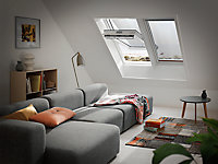 Store extérieur fenêtre de toit Velux MHL 5060 SK00 gris