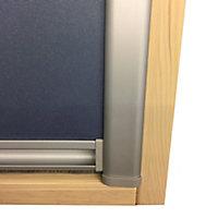 Store occultant fenêtre de toit 55 x 78 cm bleu