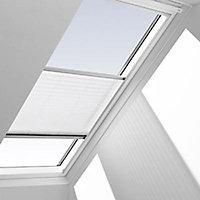 Store plissé fenêtre de toit Velux 1016 304/M04 blanc 78 x 98 cm
