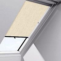 Store rideau fenêtre de toit Velux RHL 102, 104, C02 et C04 naturel