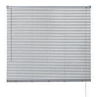 Store vénitien PVC gris 120 x 180 cm