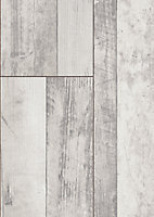 Stratifié Bindy chêne grisé 8 mm + sous-couche intégrée 2 mm - L.139 x l.20,1 cm