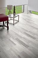 Stratifié Vialo décor gris multifrises 7 mm + sous-couche intégrée 2 mm (vendu à la botte)