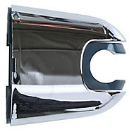 Support pour douchette mural chromé